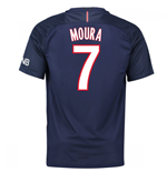 Maglia Paris Saint-Germain 2016-2017 Home (Moura 7)