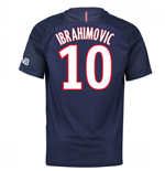 Maglia Paris Saint-Germain 2016-2017 Home (Ibrahimovic 10)