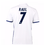 Maglia Real Madrid Home 2016/17 (Raul 7)