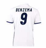 Maglia Real Madrid Home 2016/17 (Benzema 9)