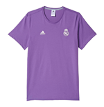 T-shirt Real Madrid 2016/17 Adidas 3S (Viola)