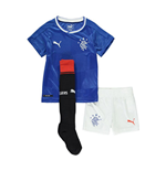 Mini Kit Rangers f.c. 2016-2017 Home da bambino
