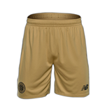 Pantaloncini Short Celtic Football Club 2016-2017 Away (Oro)