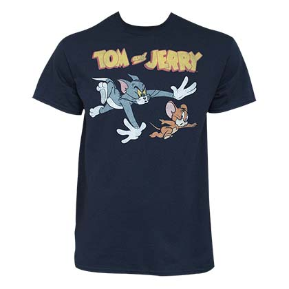 T-shirt Tom & Jerry da uomo