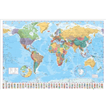 World Map - 2015 (Poster Maxi 61x91,5 Cm)
