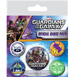 Guardians Of The Galaxy (Pin Badge Pack)