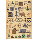 Minecraft - Pictograph (Poster Maxi 61x91,5 Cm)