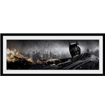 Batman The Dark Knight Rises - Action (Stampa In Cornice 76x30 Cm)