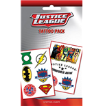 Dc Comics - Justice League Mix (Temporary Tattoo)