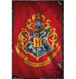 Harry Potter - Hogwarts Flag (Poster Maxi 61x91,5 Cm)