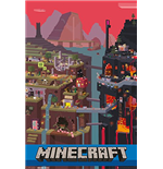 Minecraft - World (Poster Maxi 61x91,5 Cm)