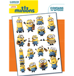 Minions - Mix (Temporary Tattoo)
