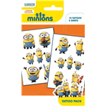 Minions - Mix 1 (Temporary Tattoo)