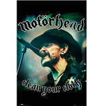 Motorhead - Clean Your Clock (Poster Maxi 61x91,5 Cm)