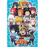 Poster Naruto Shippuden - 3d Compilation