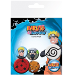 Naruto Shippuden - Mix (Badge Pack)