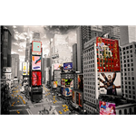 New York - Times Square Ariel (Poster Maxi 61x91,5 Cm)