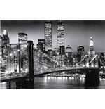 New York - Manhattan Black (Poster Maxi 61x91,5 Cm)
