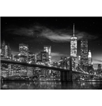 New York - Freedom Tower B&W (Poster Giant 100x140 Cm)