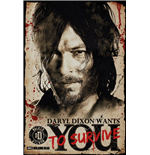 Poster The Walking Dead - Daryl Needs You - 61 x 91,5 cm