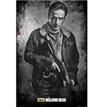 Walking Dead (The) - Rick Black And White (Poster Maxi 61x91,5 Cm)
