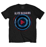 Alice In Chains - Played Black (T-SHIRT Unisex TG. X)