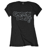Green Day - Flower Pot (T-SHIRT Donna TG. 2)