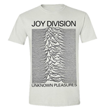 Joy Division - Unknown Pleasures (WHITE) (T-SHIRT Unisex )