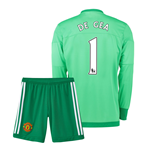 Mini kit Portiere Manchester United 2015-2016 Home (De Gea 1)