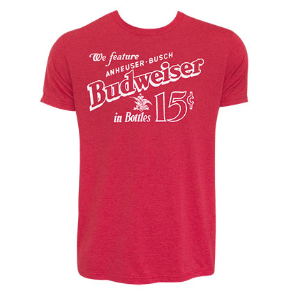 T-shirt Budweiser Old School