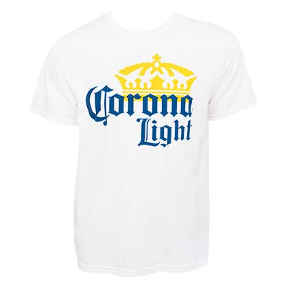 T-shirt Corona Light Large Logo