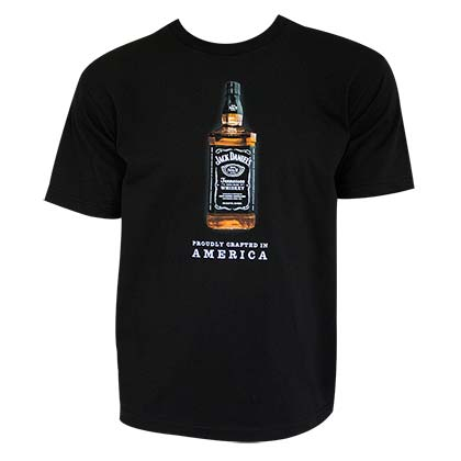 T-shirt Jack Daniel's Crafted In America
