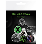 Ed Sheeran - Singer (Badge Pack)