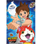Yokai Watch - Trio (Poster Maxi 61x91,5 Cm)