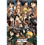 Attack On Titan - Collage (Poster Maxi 61x91,5 Cm)