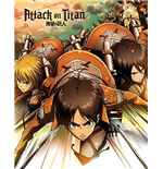 Attack On Titan - Attack (Poster Mini 40x50 Cm)