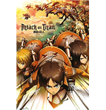 Attack On Titan - Attack (Poster Maxi 61x91,5 Cm)