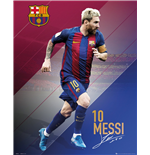 Barcelona - Messi 16/17 (Poster Mini 40x50 Cm)