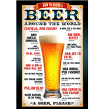 Beer - How To Order (Poster Maxi 61x91,5 Cm)