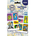 Dc Comics - Heroes And Villains (Temporary Tattoo)