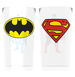 Dc Comics - Batman And Superman (Set 2 Bicchieri)