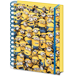 Despicable Me (Many Minions 3D Cover A5 Notebook) (Quaderno)