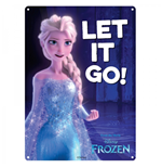 Disney Favourites - Let It Go (Targa Metallica Piccola)