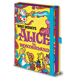 Disney Vintage Princess (Alice In Wonderland) Premium A5 Notebook (Quaderno)