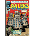 Doctor Who - Red Dalek Comic (Poster Maxi 61x91,5 Cm)