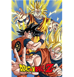 Dragon Ball Z - Goku (Poster Maxi 61x91,5 Cm)