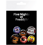 Five Night At Freddy's - Mix (Badge Pack)