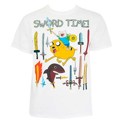 T-shirt Adventure Time da uomo