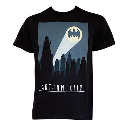 T-shirt Batman Art Deco Gotham City