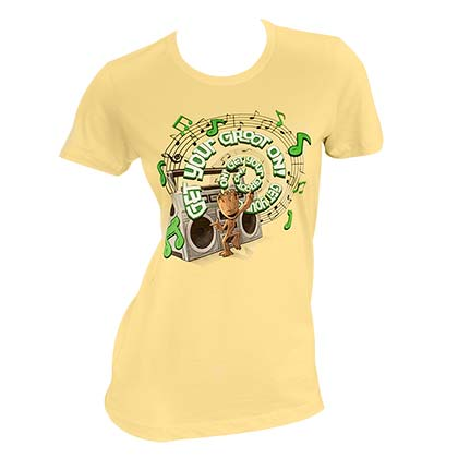T-shirt Guardians of the Galaxy Get Your Groot On  da donna